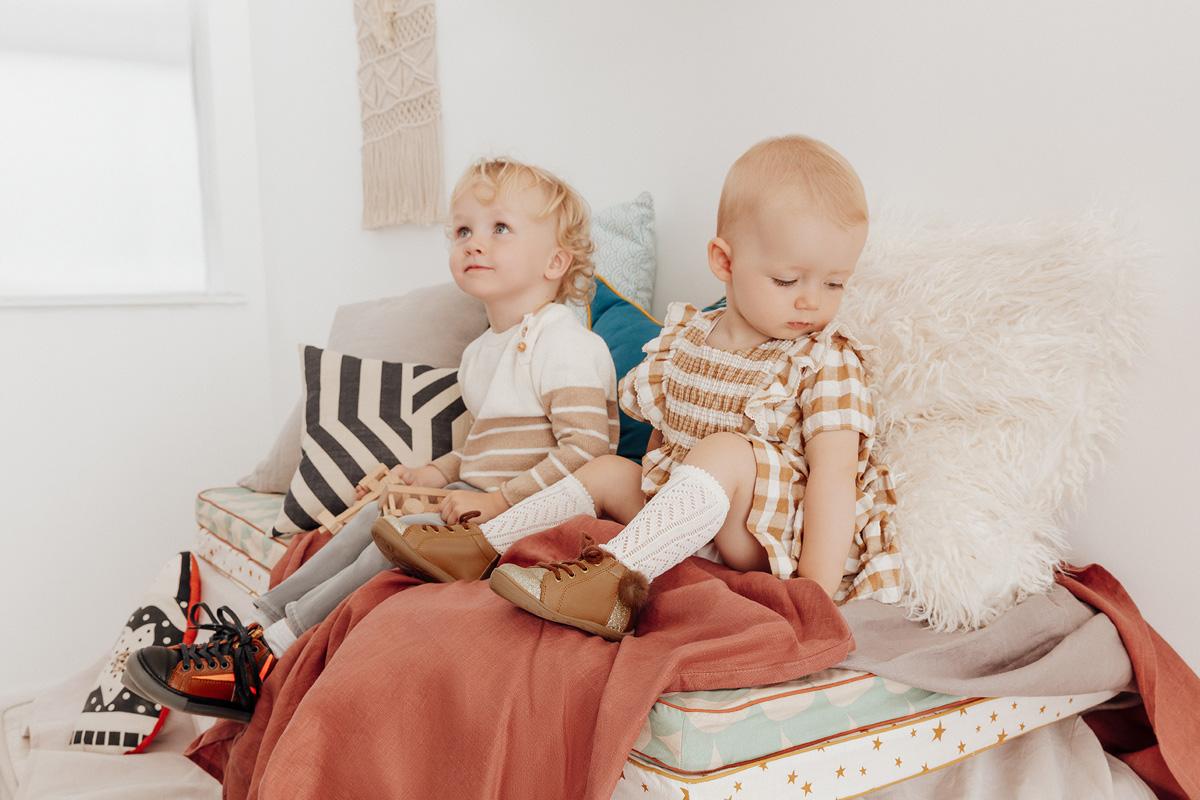 enfant modèles pour Jef Chaussures