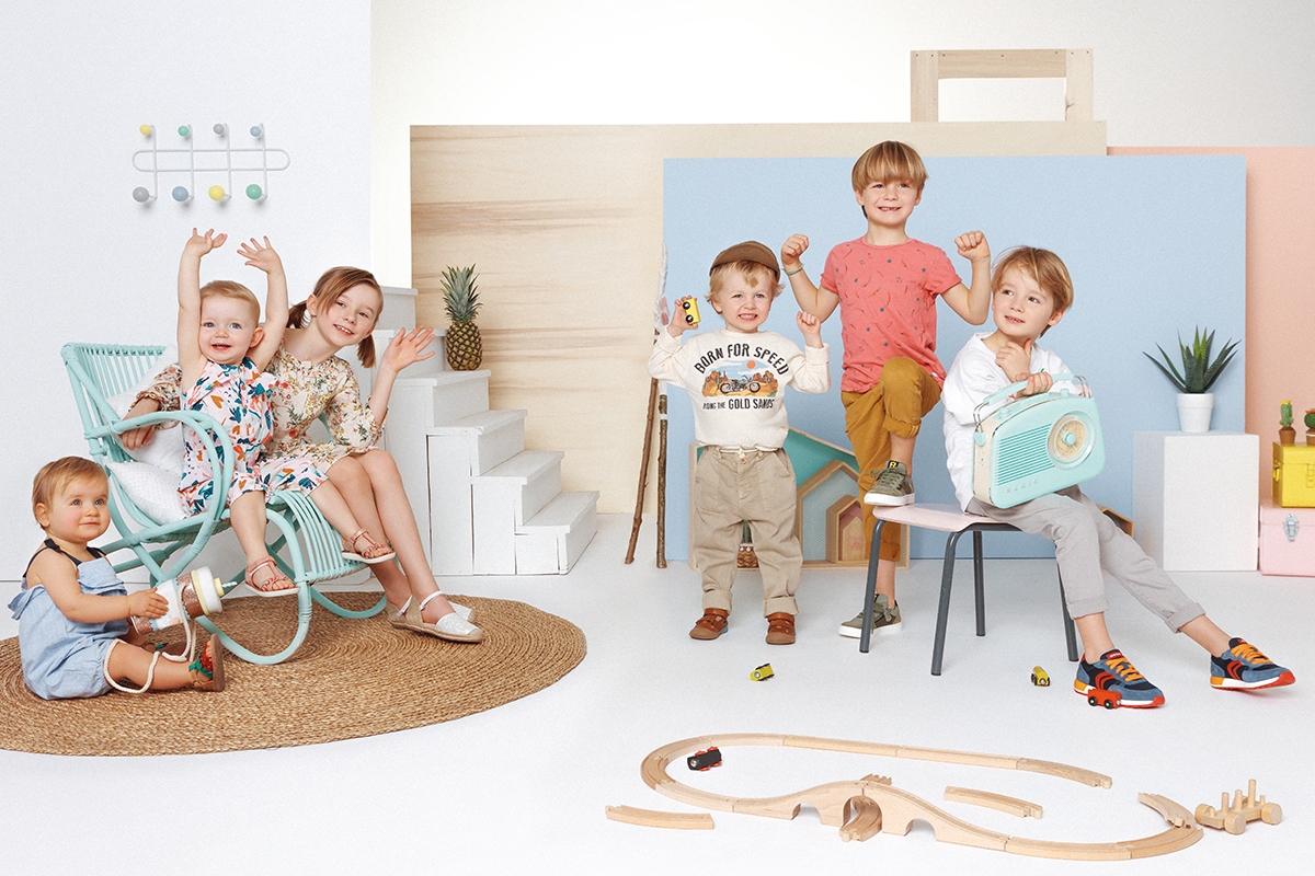 Campagne Kids jef chaussures chez M-Agency